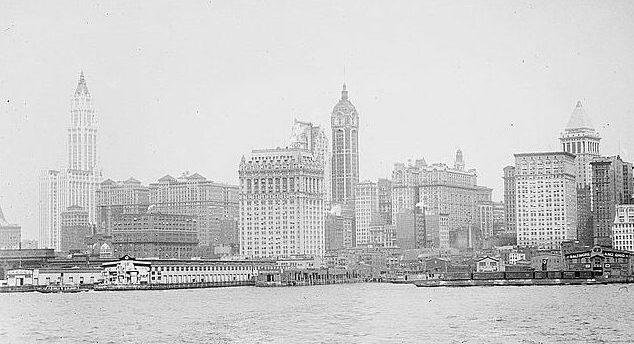 NYC Skyline 1913